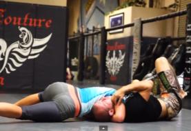 Miesha Tate vs Donald Cerrone - sparing na same chwyty
