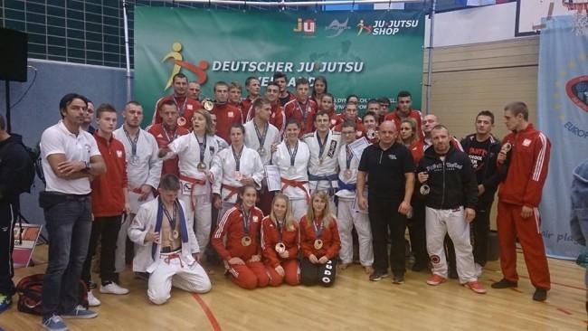20 medali Polaków na German Ju Jitsu Ne-Waza
