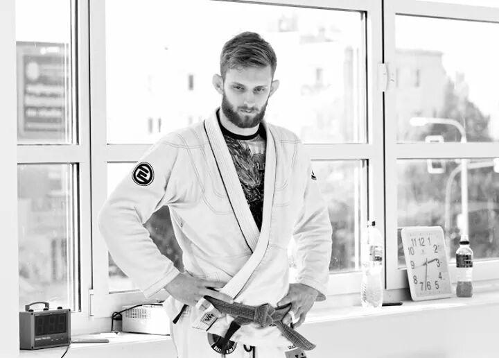 Adam Wardziński po wygranej na V Pucharze Polski NO GI