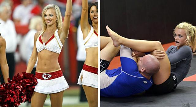 Od cheerleaderki po zawodniczkę BJJ&MMA