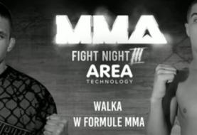 Piękno BJJ w MMA - Dawid Żywica na MMA Fight Night 3