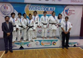 Mistrzostwa Świata Judo osób Niesłyszących w Turcji dla Poznańskiej Akademii Judo zakończyły się sukcesem!