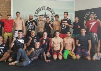 Roman Szymański trenuje w Chute Boxe Diego Lima