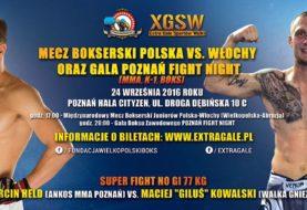 "Super Fight NO GI 77 KG MARCIN HELD vs. MACIEJ ""GILUŚ"" KOWALSKI na gali Poznań Fight Night"
