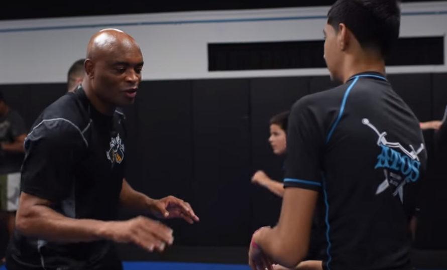 Relacja z seminarium z Andersonem Silva w Atos Jiu Jitsu
