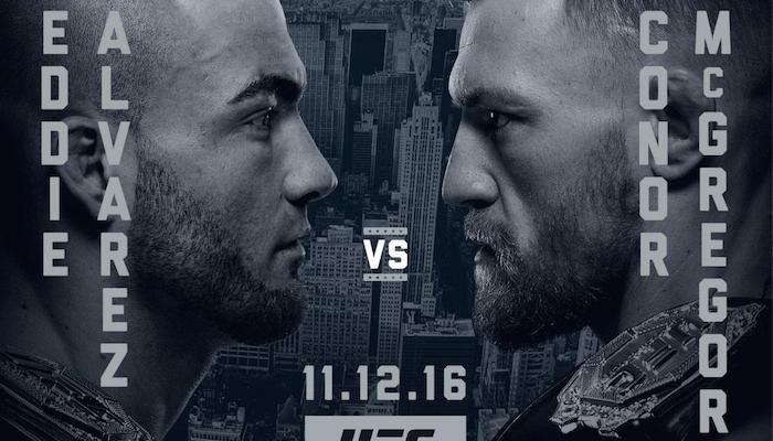 McGregor vs Alvarez walką wieczoru na UFC 205 w Nowym Jorku
