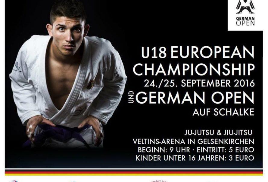 Skład kadry Ju Jitsu na ME w Niemczech