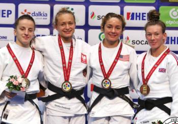 Karolina Pieńkowska zdobywa złoto na GP Zagrzebia