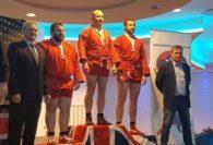 Piotr Chojnacki z 2 medalami na Sambo British Championship!!