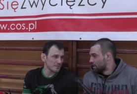 Maciej Polok w wywiadzie podczas obozu sparingowego w Wałczu