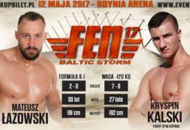 Mateusz Łazowski vs. Kryspin Kalski na FEN 17 Baltic Storm!