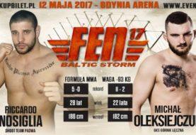 Michał Oleksiejczuk vs. Riccardo Nossiglia na FEN 17 Baltic Storm!