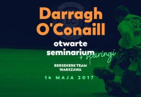 Darragh O'Conaill na seminarium w Berserkers Team Warszawa