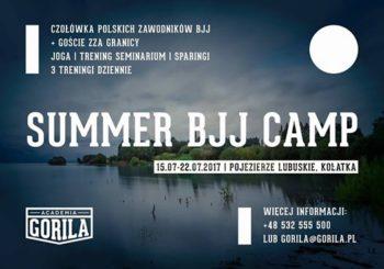 Zapraszamy na BJJ Gorilla Sumer Camp w Kołatce!