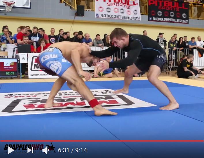 Finał kategorii PRO – 76,9 kg: Gamrot vs Kałuszewski ADCC '17