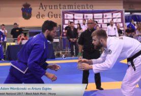 Adam Wardziński na Spanish Nationals [Video]