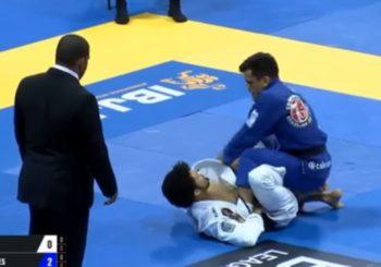 Cobrinha vs. Shane Taylor-Hill na IBJJF Worlds 2017 [Video]
