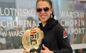 Joanna Jędrzejczyk zdradza szczegóły pomysłu na zastępstwo podczas UFC 213: Chciałam przeżyć przygodę.