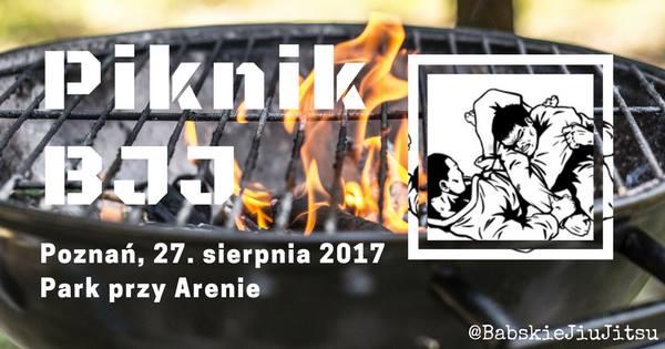 Poznański Piknik BJJ już w najbliższy weekend