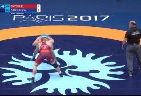 Finał kategorii 97 kg w stylu wolnym na MŚ w Paryżu [Video]