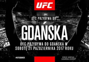 Znamy kolejność walk na UFC w Gdańsku! Kowalkiewicz w drugiej walce wieczoru!