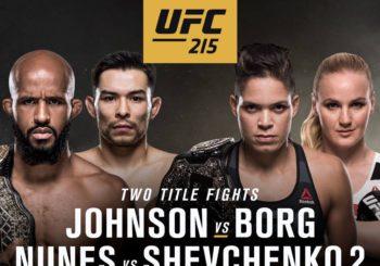 Rozszerzona video zapowiedź UFC 215 wraz z rozpiską.