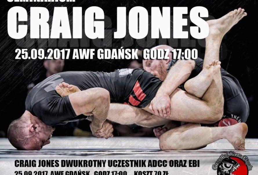Craig Jones poprowadzi seminarium w Gdańsku