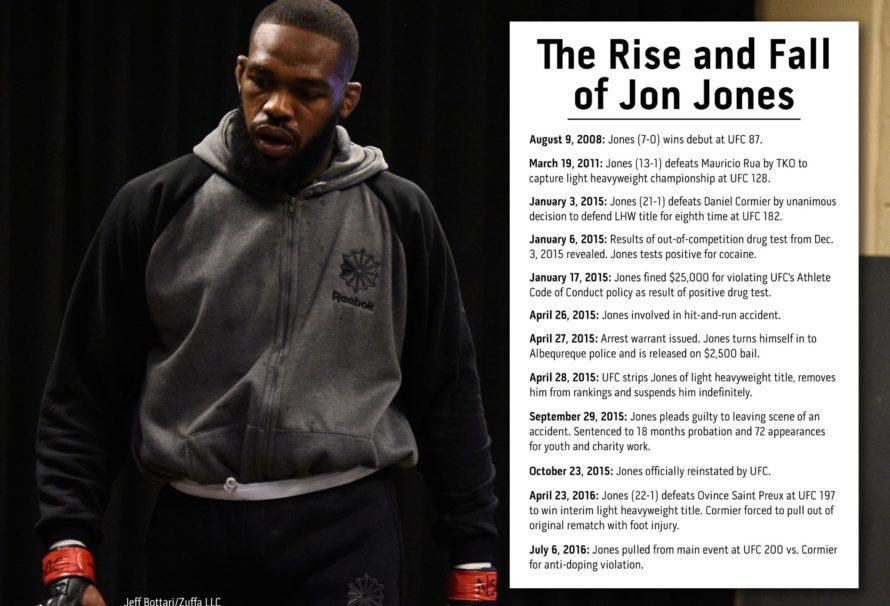 Powstanie i upadek Jona Jonesa.