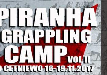 Kolejna edycja obozu Piranha Grappling Camp już w listopadzie