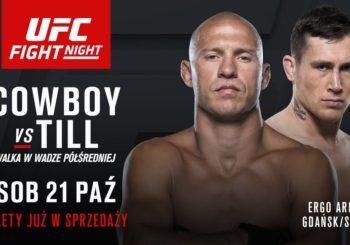 Donald ,,Cowboy'' Cerrone vs. Darren Till walką wieczoru na UFC w Gdańsku!