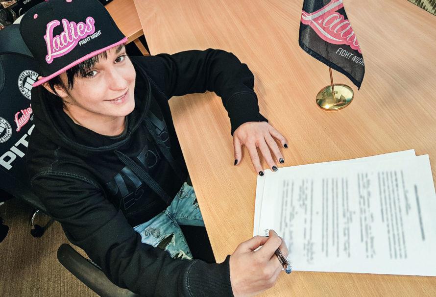 Barbara Nalepka już w grudniu zawalczy na gali Ladies Fight Night!
