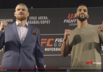 Spotkania ,twarzą w twarz'' przed sobotnim UFC w Gdańsku!