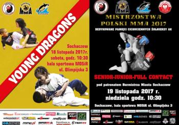 18 i 19 listopada święto MMA i BJJ w Sochaczewie! Tym razem w BJJ wystartują też dzieci!