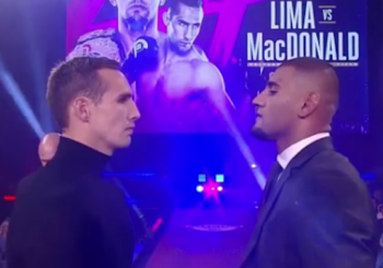 Uderzenia z główki, łokcie, stompy- o tym marzą MacDonald i Lima w MMA!