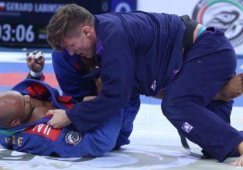 Gerard Łabiński po wygranej na UAEJJF Grand Slam Rio