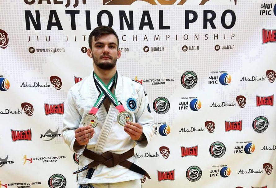 Adrian Kozicz najlepszym brązem w rankingu UAEJJF