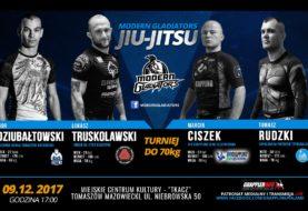 Modern Gladiator Jiu Jitsu - znamy skład kategorii -70 kg