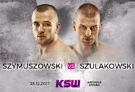 Szulakowski vs. Szymuszowski dodane do karty KSW 41 w Katowicach!