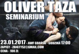 Seminarium z Oliverem Taza w Gdańsku !!