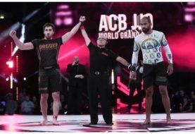 Abdurakhman Bilarov poddaje Erbertha Santosa na ACB JJ 9