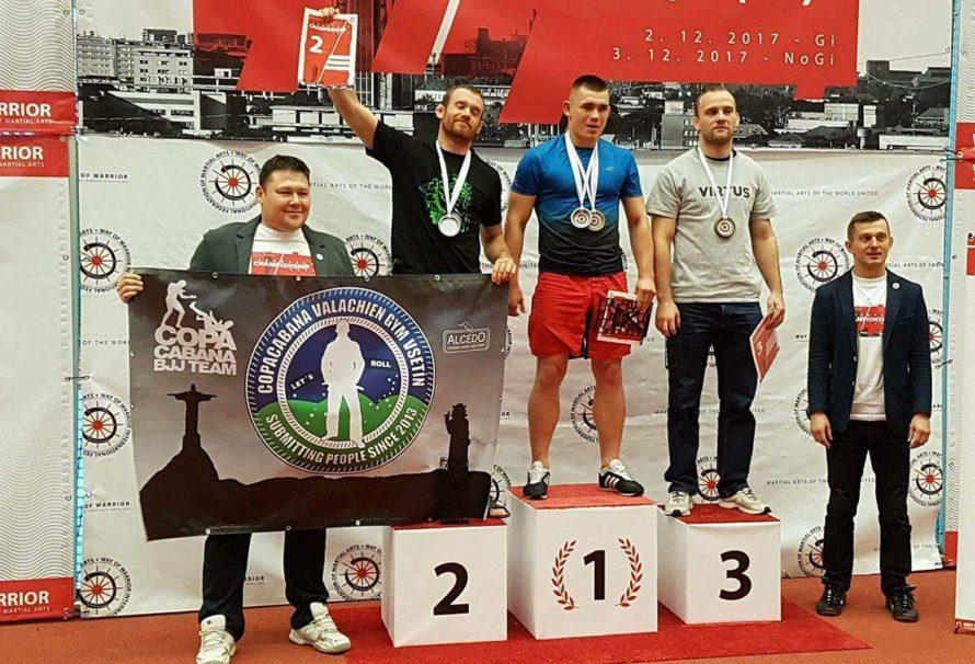 Łukasz Pawlina zalicza udany występ na European Championship w Ostrawie