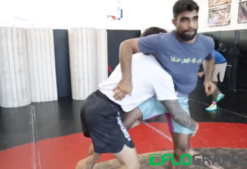 Dillon Danis i Mansher Khera na treningu zapaśniczym [Video]