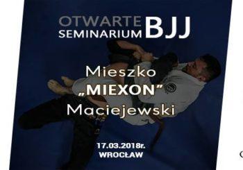 """Seminarium z Mieszkiem """"Miexonem"""" Maciejewskim we Wrocławiu"""