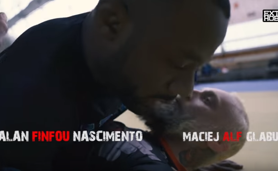 "Druga część materiału wideo od Extreme Hobby z Alanem ""Finfou"" Nascimento"