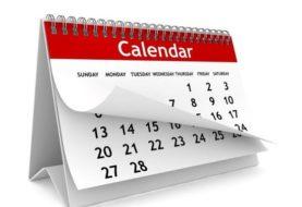ROZKŁAD JAZDY NA KWIECIEŃ - czyli spis wydarzeń nadchodzącego miesiąca