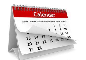 Rozkład jazdy na MAJ: czyli co ciekawego wydarzy się w nadchodzącym miesiącu