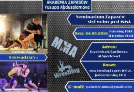 Seminarium Zapasów Styl Wolny pod MMA