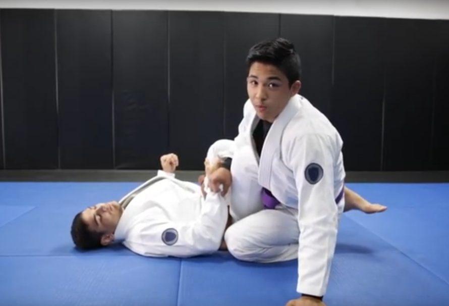 Dźwignia na łokieć z 50/50 z Atos Jiu Jitsu [Video]