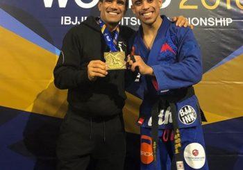 Cobrinha nominuje swojego syna po zdobyciu tytułu na IBJJF Worlds 2018