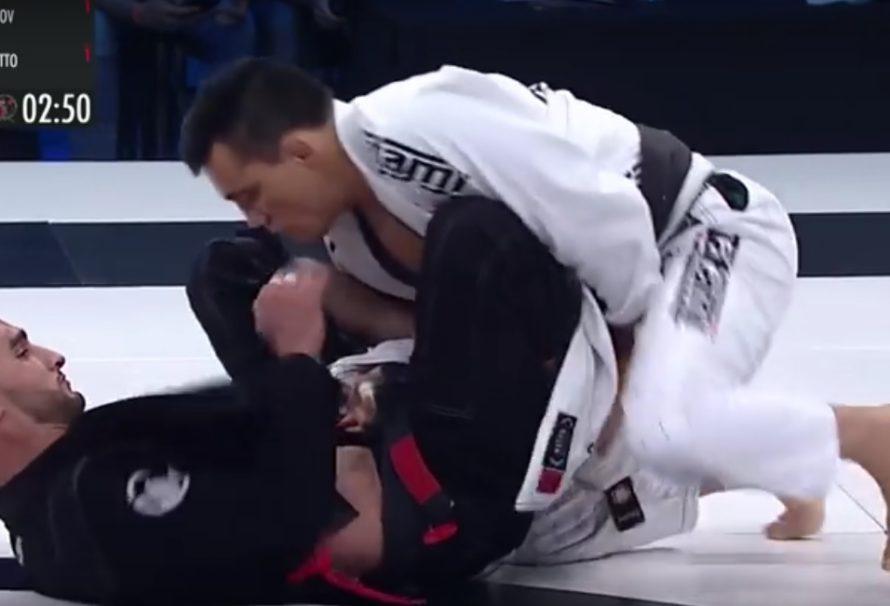 Ali Magomedov poddaje Bruno Frazatto na ACB JJ 14 [Video]